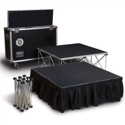 Stage platform rental in DC, MD, VA. Complete event management, party planning, stage, lighting, sound, PR, marketing, and more.