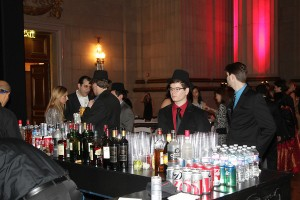 Bar rental in Washington DC, Northern Virginia corporate staffing, lighting, truss, DJ equipment