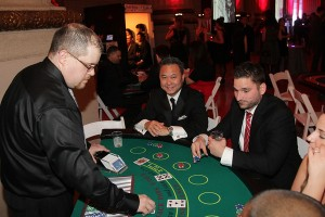 Casino table rentals, dealer staffing, black jack, crabs, roulette, poker, party planner in DC, NYC