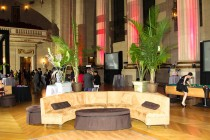 Prop rentals in DC, centerpieces, luxury leather lounge furniture for rent, high boy, round tables, chairs, wedding furniture rentals, and more
