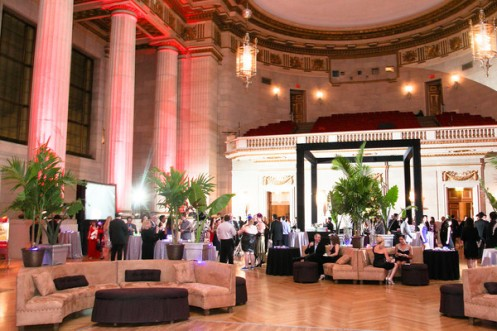 Rent audio visual equipment in DC Party Rentals, lounge furniture, large ottoman, bar, truss, projector, TV, luxury decor, event planners for hire 1 202 436 5114